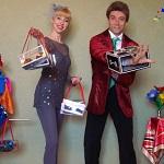 Людмила и Святослав, хула хуп, жонглеры - Официальный сайт агента